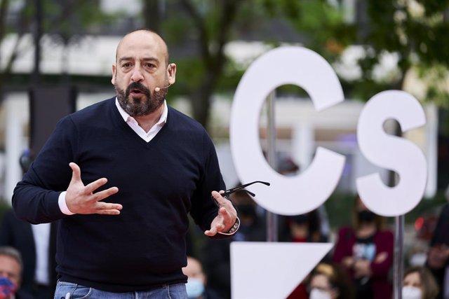 Arxiu - L'eurodiputat de Cs, Jordi Cañas.