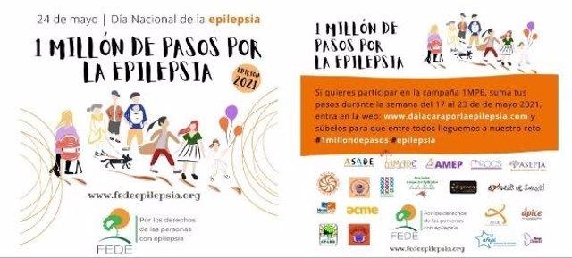 Campaña 'Un millón de pasos por la epilepsia'