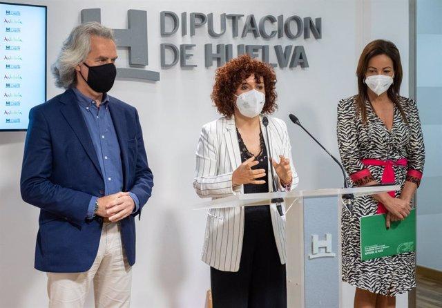 Presentación de Fitur 2021 en la Diputación de Huelva.