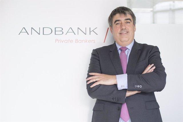 Carlos Aso a les oficines d'Andbank.