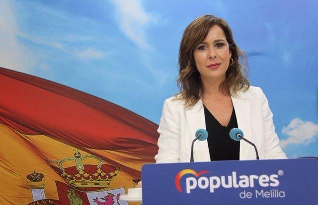 Paz Velázquez, diputada del PP de Melilla