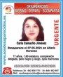Buscan a una menor de 17 años desaparecida en Allariz (Ourense)
