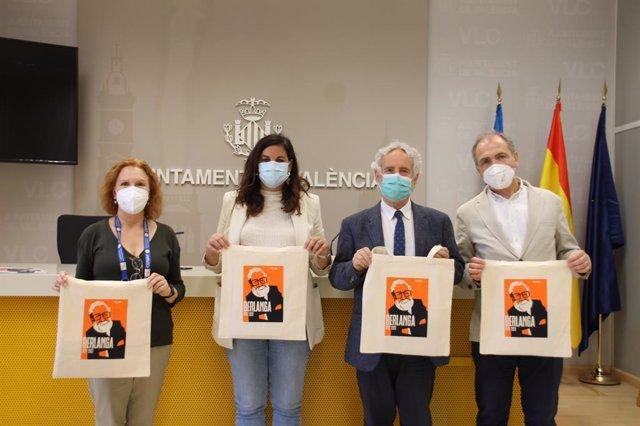 Presentació en l'Ajuntament de València d'activitats per l'Any Berlanga