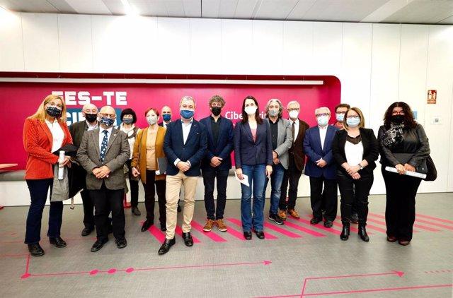 Arxiu - El primer tinent d'alcalde de Barcelona, Jaume Collboni, ha presentat aquest divendres l'agenda Barcelona Green Deal a empreses, universitats i centres d'investigació de la ciutat.