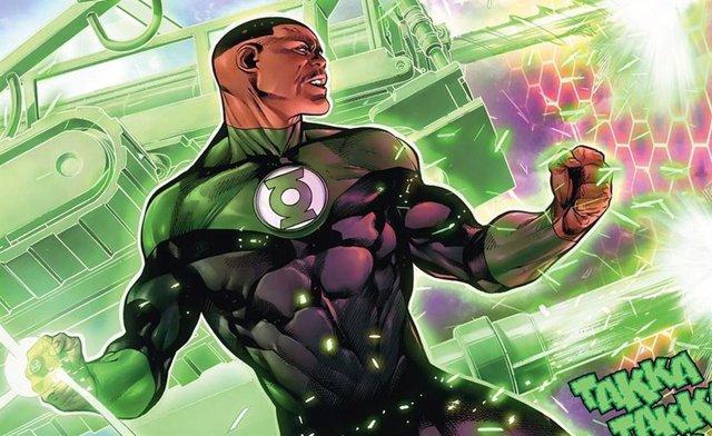 John Stewart (Green Lantern) en los cómics de DC