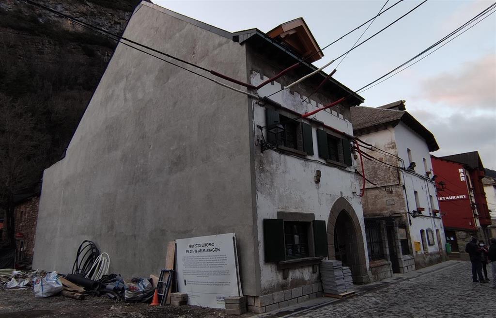 La antigua casa del cura será la sede del nuevo albergue