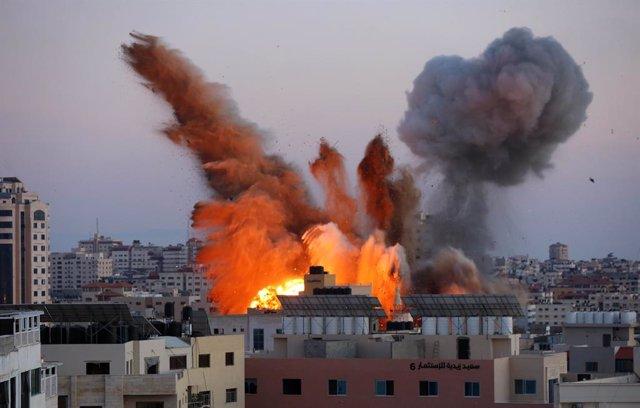 Atacs aeris d'Israel a Gaza