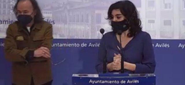 Béznar Arias y Yolanda Alonso