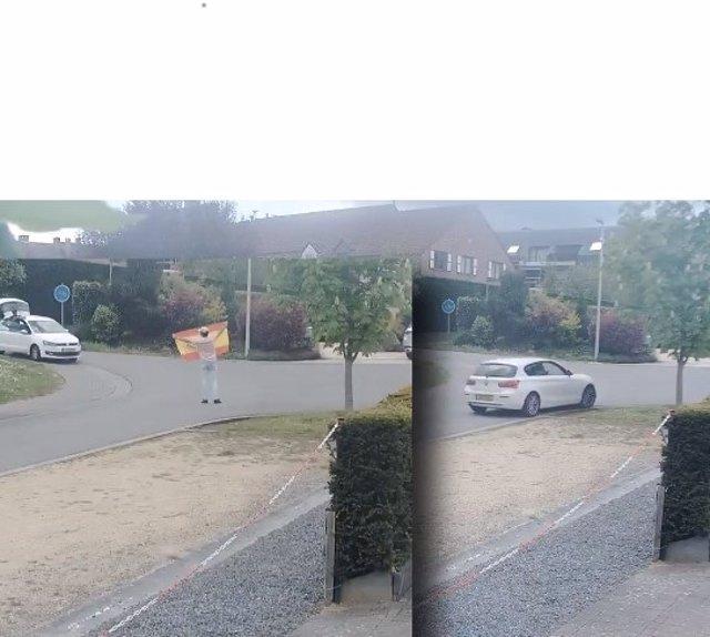 L'expresident de la Generalitat Carles Puigdemont denuncia el robatori d'una placa amb el missatge 'Casa de la República' a la seva casa de Waterloo (Bèlgica)