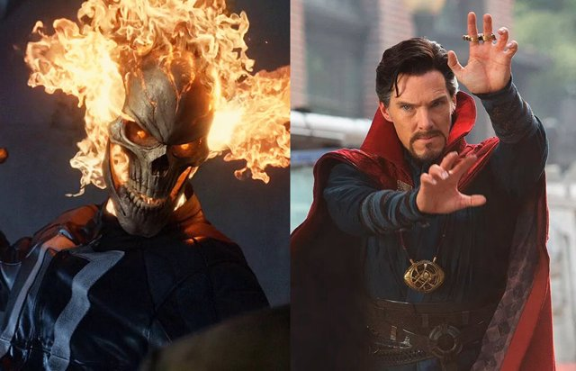 ¿Ghost Rider En Doctor Strange In The Multiverse Of Madness?