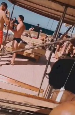 La Guardia Civil denuncia a los organizadores de una fiesta multitudinaria en un barco en Gran Canaria