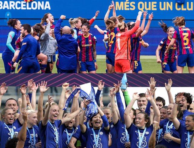 Barça Femení y Chelsea Women, rivales en la final de la UEFA Women's Champions League 2021 que se disputará el domingo 16 de mayo en el Gamla Ullevi de Gotemburgo (Suecia)