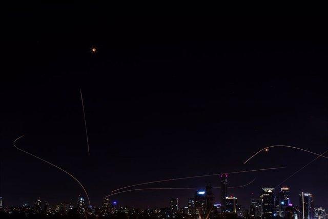 Cohetes disparados por Hamás a Tel Aviv en las últimas horas