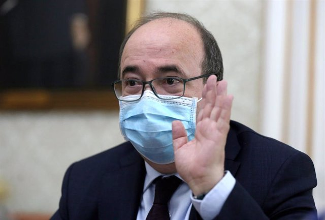 El ministro de Política Territorial, Miquel Iceta