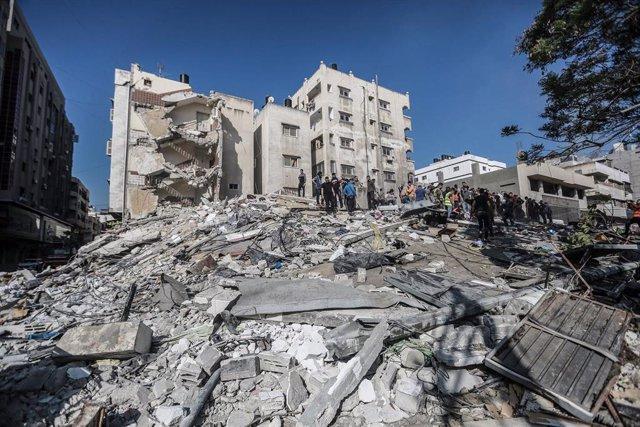 Ataques aéreos de Israel en Gaza