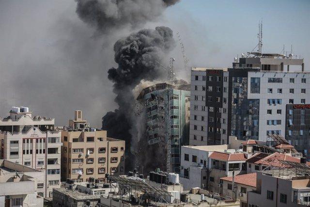 Atac d'Israel contra la torre Al Yalá