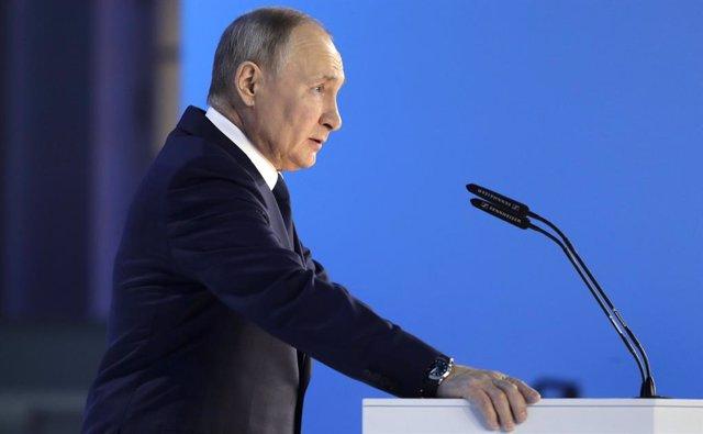 El president rus, Vladímir Putin