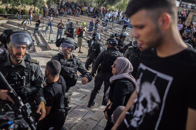 Policies israelians i ciutadans àrabs a Jerusalem
