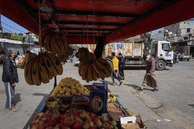 Archivo - Arxiu - Imatge d'arxiu del pas de Rafah