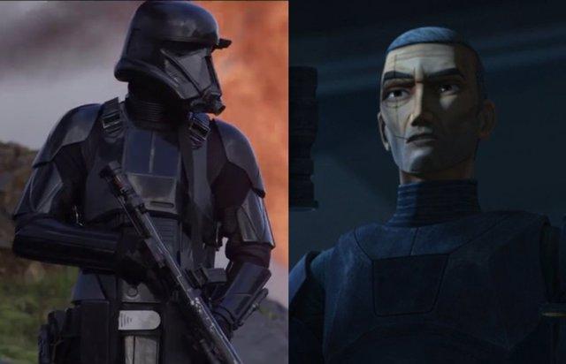 Star Wars La Remesa Mala 1x03 revela el origen de los letales Death Troopers del Imperio