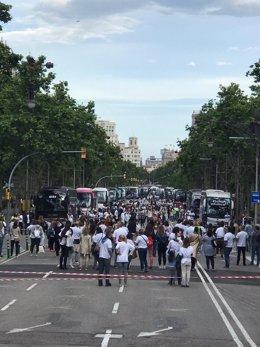 Professionals del turisme es concentren a Barcelona