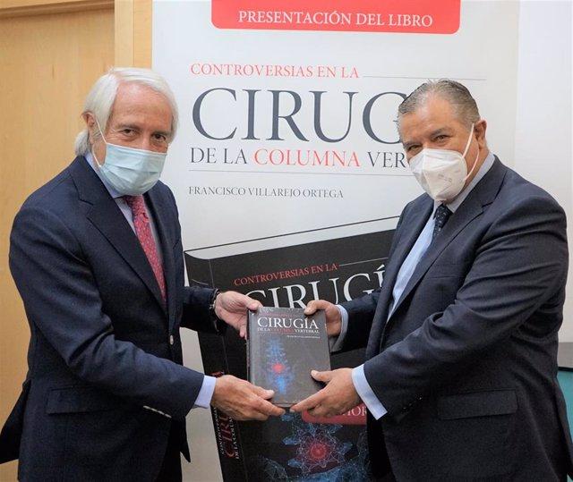 El doctor Francisco Villarejo publica un libro sobre las controversias en la cirugía de la columna vertebral