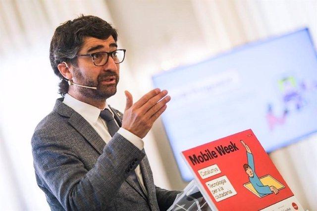 El conseller de Polítiques Digitals i Administració Pública de la Generalitat, Jordi Puigneró.