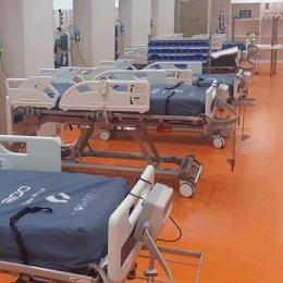 Archivo - Camas de UCI dell Hospital Universitario Central de Asturias (HUCA) para pacientes con coronavirus, COVID-19.