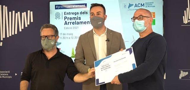 El guanyador dels premis Arrelament ha estat el projecte 'Repoblació de Rocafort de Queralt'