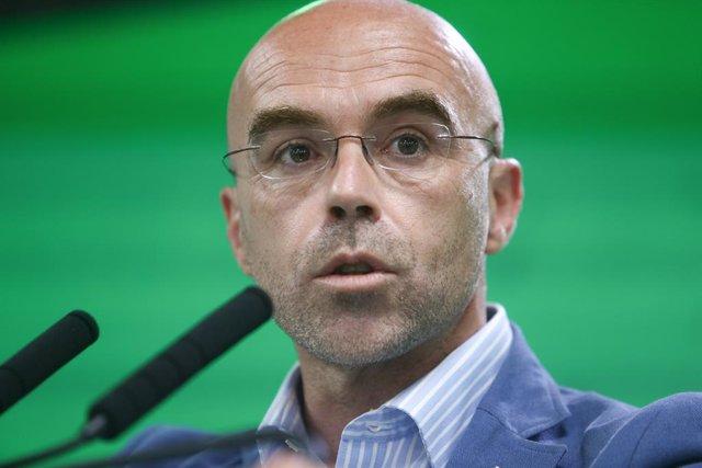El vicepresident primer d'Acció Política de Vox, Jorge Buxadé.