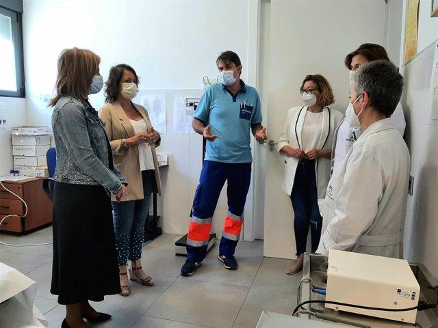 Visita al centro salud de Torredonjimeno.