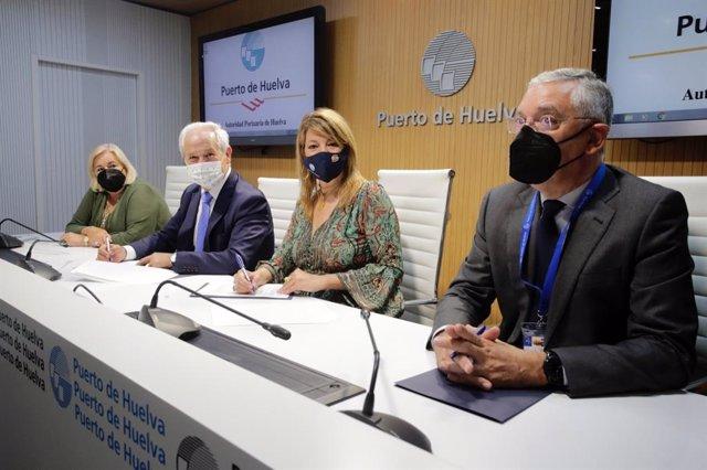 El Puerto firma un protocolo con el SAS para crear una Plataforma Logística Sanitaria en el ZAL