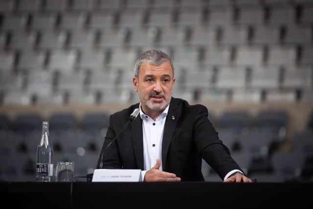 Arxiu - El primer tinent alcalde de Barcelona, Jaume Collboni.