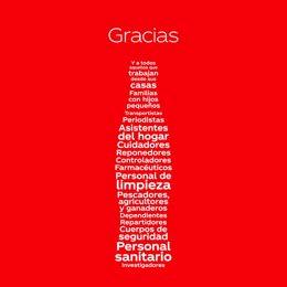 La pieza de Coca-Cola 'Una botella agradecida', homenaje a los trabajadores esenciales durante la pandemia, galardonada en los Muse Creative Award en la categoría Social Media Covid-19 Related