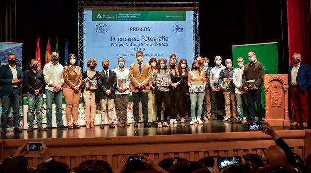 Entrega de premios del I Concurso de Fotografía Parque Natural Sierra de Baza