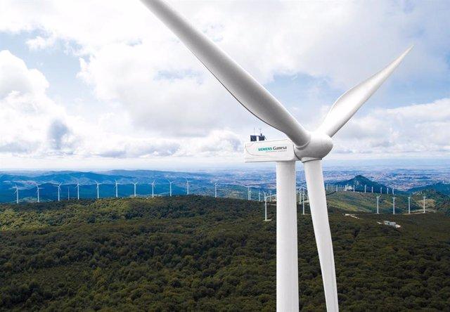 Archivo - Arxiu - Siemens Gamesa subministrarà 69 aerogeneradors, amb una capacitat de 759 MW, a Croswind als Països Baixos