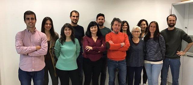 Grupo del CIBERSAM coordinado por Analía Bortolozzi