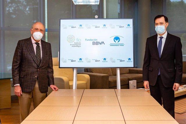 La Fundación BBVA colabora con investigaciones clínicas punteras en córnea y cristalino desarrolladas por el Instituto Oftalmológico Fernández-Vega.