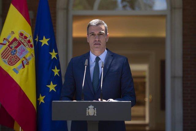 El president del Govrn espanyol, Pedro Sánchez.