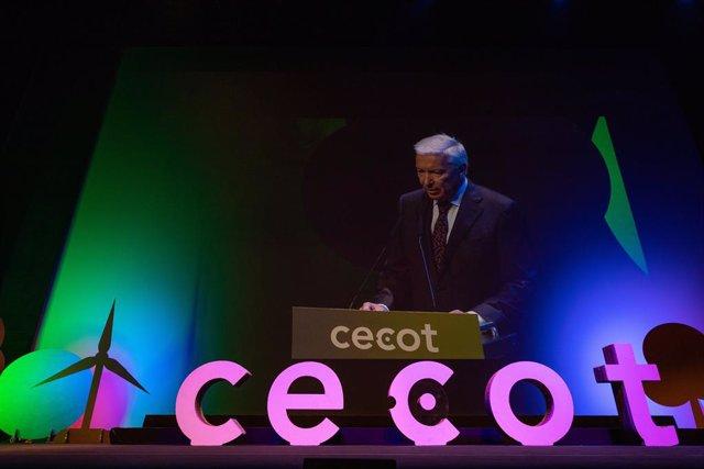 Archivo - Arxiu - El president de Cecot, Antoni Abad, durant la Nit de l'Empresari.