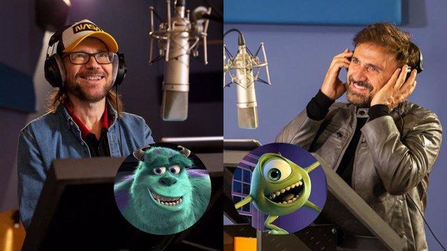 José Mota y Santiago Segura vuelven a ser Mike y Sulley en Monstruos a la obra, la serie de Monstruos S.A., en Disney+