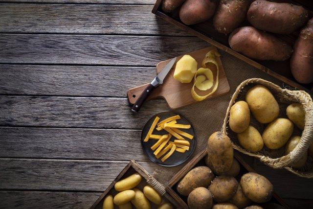 Archivo - Patatas.