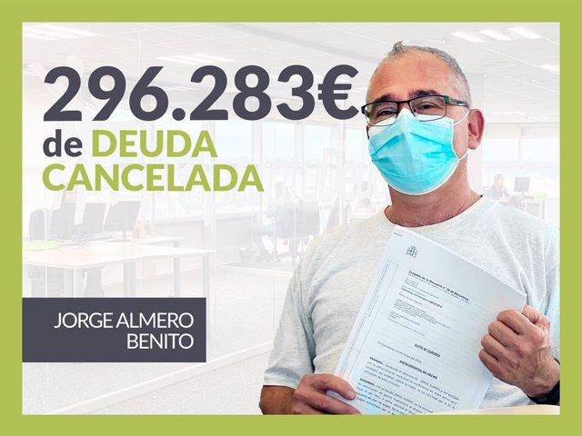 Jorge Almero, exonerado con Repara Tu Deuda