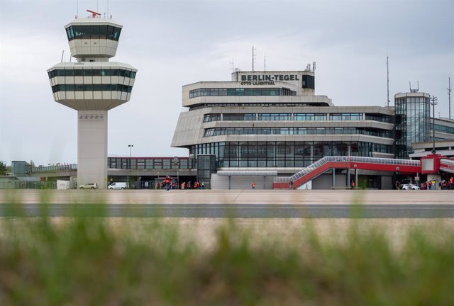 04 May 2021, Berlin: A general view of the former Tegel Airport. On 04 May 2021, Tegel's status as an airport will expire as operations are set to officially end by midnight. Photo: Christophe Gateau/dpa