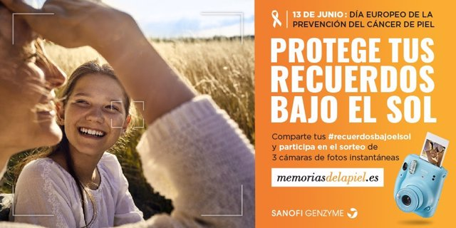 """""""Memorias De La Piel"""", Nueva Campaña Para Prevenir El Cáncer De Piel No Melanoma"""