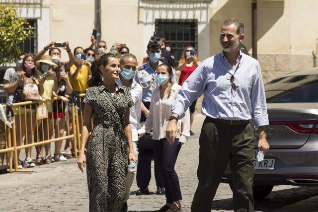 Archivo - Visita de los reyes a Cuenca