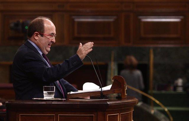 Archivo - El ministre de Política Territorial i Funció Pública, Miquel Iceta.