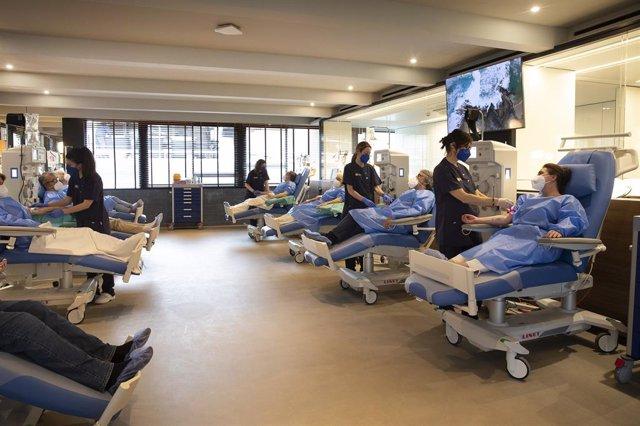 Imatge del primer AMBAR Center a Barcelona impulsat per Grifols i la fundació mèdica Ace Alzheimer Center Barcelona