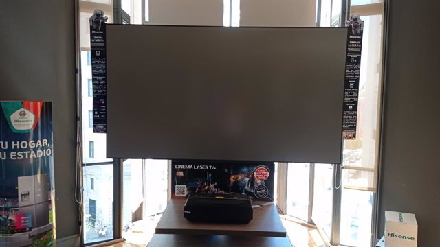 Imagen del televisor Hisense Laser TV