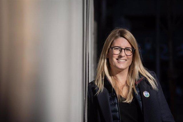 Archivo - Arxivo - La vicepresidenta de JxCat i portaveu municipal del partit a Barcelona, Elsa Artadi, en una imatge d'arxiu.